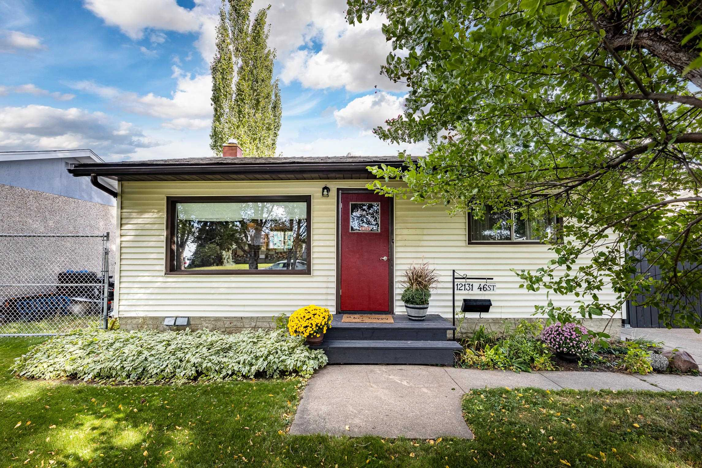 This charming bungalow is perfectly located on a quiet, tree-lined cul-de-sac in Beacon Heights and has everything you would want or need in a starter home.  The kitchen was remodeled in 2017 with new wood cabinets, stainless steel appliances and tile backsplash and adjoins to the living room with a pass-through eating bar. The rest of the main floor is home to two nice sized bedrooms and a renovated full bath. The basement, although only partially finished, has an office, an additional sleeping area and tons of storage. Furnace and HWT are 2006. 100 amp electrical. The outside is a real drawing feature - massive yard, fully fenced, landscaped with apple, plum and cherry trees, saskatoon and raspberry bushes, fire pit, oversized, heated double detached garage, parking area, storage shed/art room, side patio, shared storage cage with the neighbours and RV parking! The shingles are made of a composite material and have a lifetime warranty. Beacon Heights Elementary is one block away. Lots of street parking!