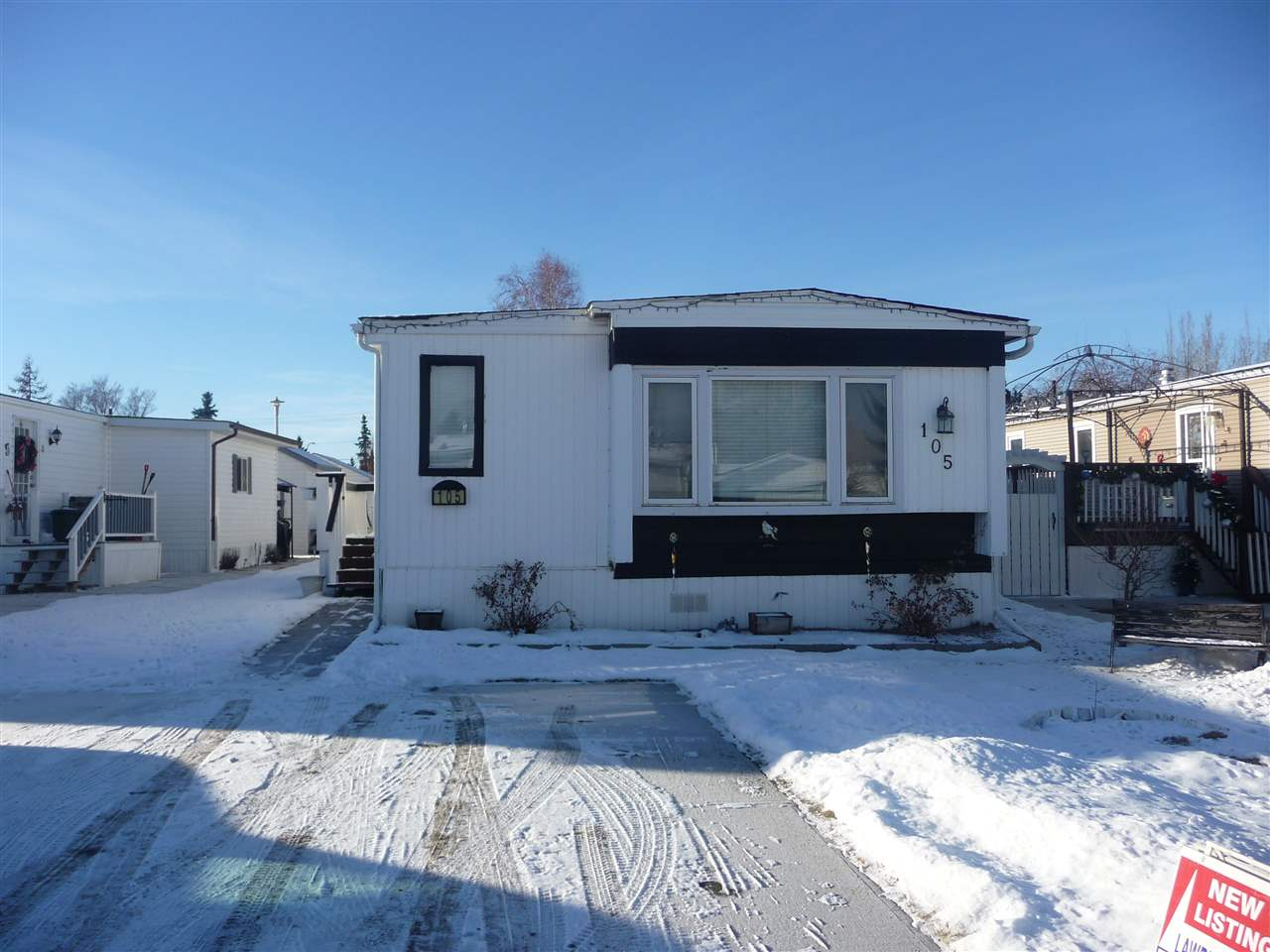 GREAT STARTER HOME WITH 3 BEDROOMS,HUGE LIVING ROOM,GOOD SIZE KITCHEN & DINING AREA,GREAT ROOMY ENTRANCE TO MOBILE,VERY LARGE MASTER BEDROOM.ALSO 2 VERY LARGE STORAGE SHEDS ,FENCED YARD,SHINGLE REPLACED APPROX 3 YEARS AGO,FURNACE 2006.THIS VERY SPACIOUS 1400 SQ FT MOBILE LOCATED IN ONE OF THE BEST MOBILE PARKS IN EDMONTON WITH CHEAPEST LOT RENTAL KNOWN OF IN EDMONTON AND AREA $325.00 PER MONTH INCLUDING WATER,SEWER & GARBAGE PICK UP.CLOSE TO A LOT OF AMENITIES,BUS ETC.