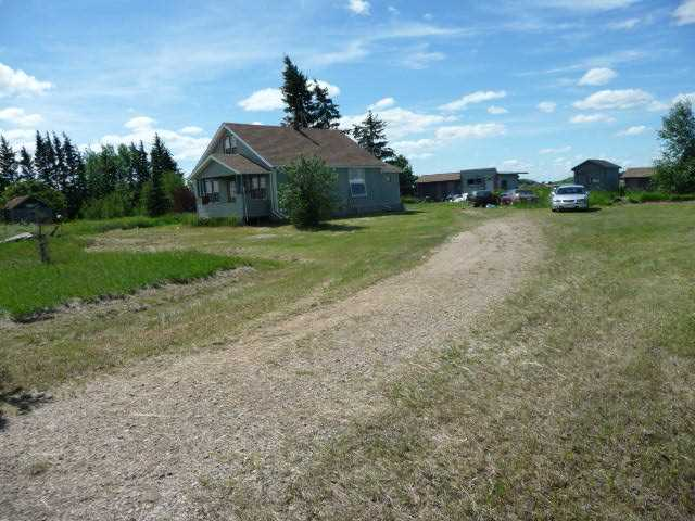 Acreage property just a bit south of Two-Hills with direct highway frontage, backing onto the river to the North, and green space to the West; located at 545020 -545016 HWY 36. Two separately titled properties combined for a total of 1.92 acres and being sold together. The 1.6 acre property at 545020 contains an upgraded 1945 built 845 sq.ft. 1.5 storey home with some recent new renovations including shingles, vinyl siding, vinyl windows, front and back decks, and new furnace. Site services include power, natural gas, and a water well drilled in 1998 producing 9.91 gpm; water service has not been connected and there is no septic service. The adjoining .32 acre parcel which is included is vacant with no services. These County of Two-Hills properties are described and zoned as Controlled Urban Development District.