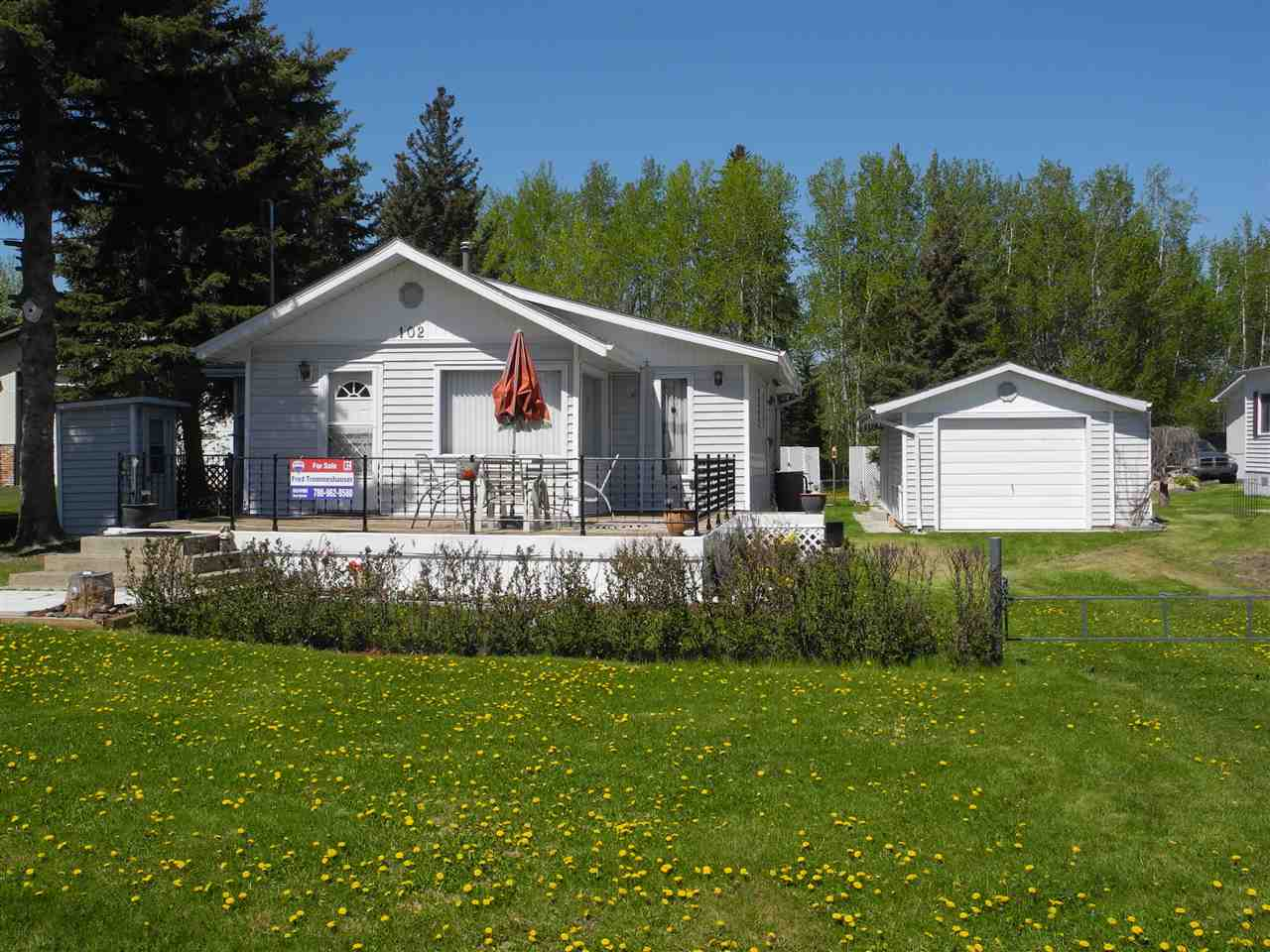 Welcome to this Gorgeous 3 season cottage with amazing lake views!! On an easy paved commute from the city you will find this fantastic two bedroom bungalow. Large windows surround the dinette just off the full kitchen. Bedrooms are large as is the 4 piece bathroom. Nice bright south facing deck to enjoy the sunshine and views of the lake. Large lot with firepit area and plenty of parking for all the toys. Detached garage that also features a bunkhouse when extra guests show up. There is a Drilled well, holding tank, space heater, and 100 amp electrical that just add to this gem. So bring your boats, toys and walking shoes and enjoy what lakeside living has to offer. Plenty of room to park the RV as well.