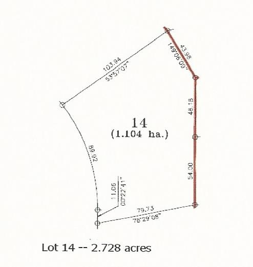 Walkout potential with this 2.73+/- acre lot in the Meadows of Rosenthal. An ideal location for country living within minutes from Stony Plain. This new subdivision features paved roads all the way, is architecturally controlled and has underground power. With the convenience of being located just 2 minutes west of Stony Plain you will not have a long commute for shopping, schooling and sports or walk up to the Rosenthal Community Hall to take part in community events. GST is applicable.
