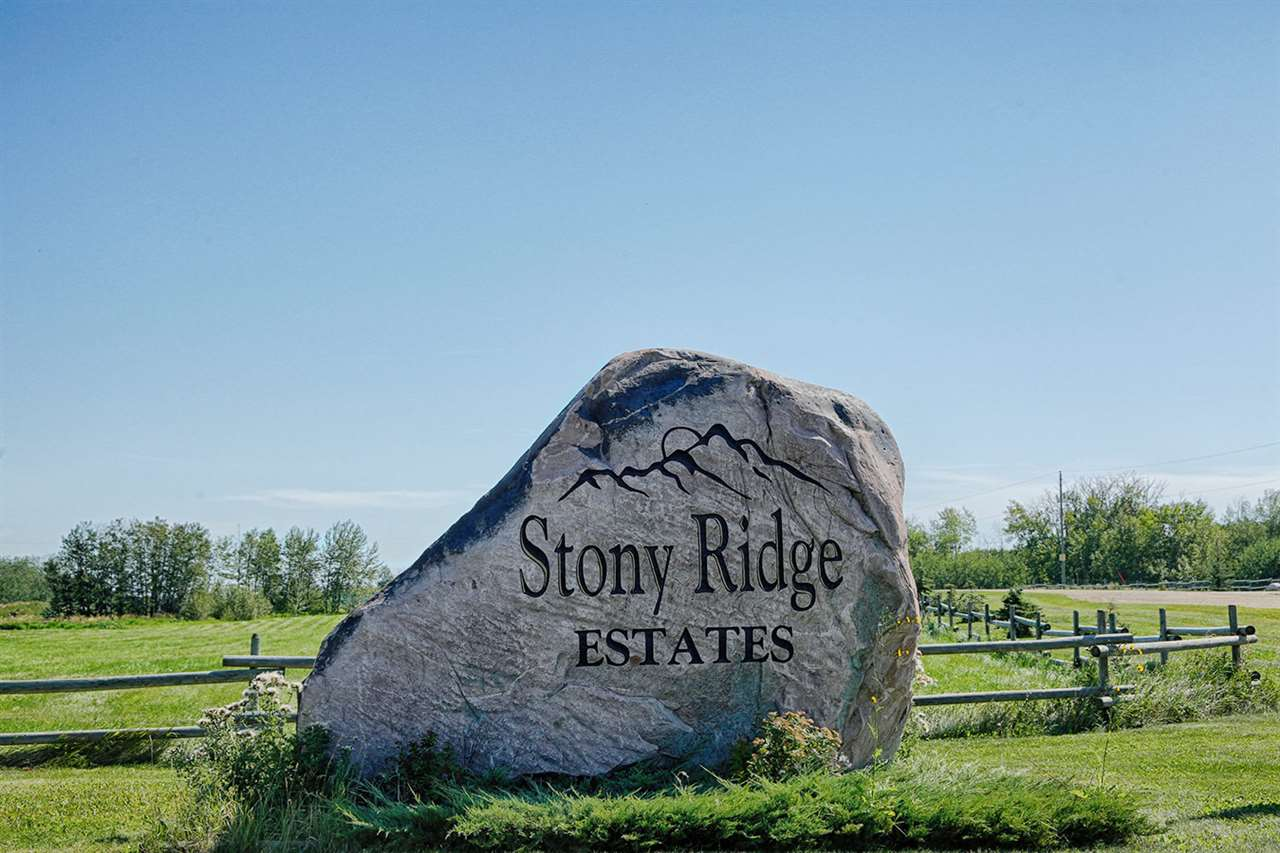 Welcome to 5.07 acres in peaceful Stony Ridge Estates! Gorgeous, private setting, surrounded by trees and nature. It's the perfect lot build your dream home without clearing any trees! Gas and power are already at the property line. If GST is applicable, the purchaser is responsible.