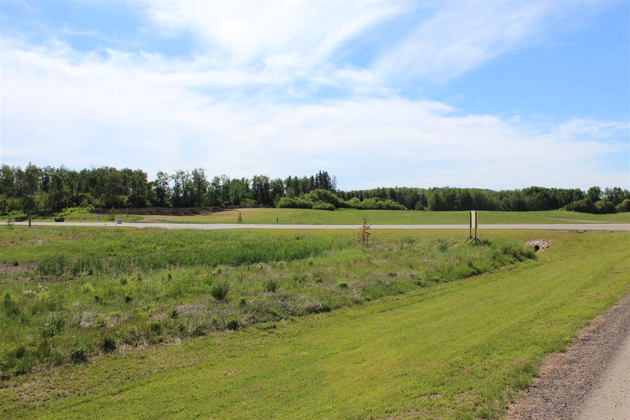 Corner 2.33 acre lot is located in the upscale, eco friendly subdivision of the Cornerstone Estates. Enhanced architectural guidelines designed to protect the homeowner's investment. Enjoy the tranquility of country living but yet be 10 min from all the amenities in Spruce Grove.
