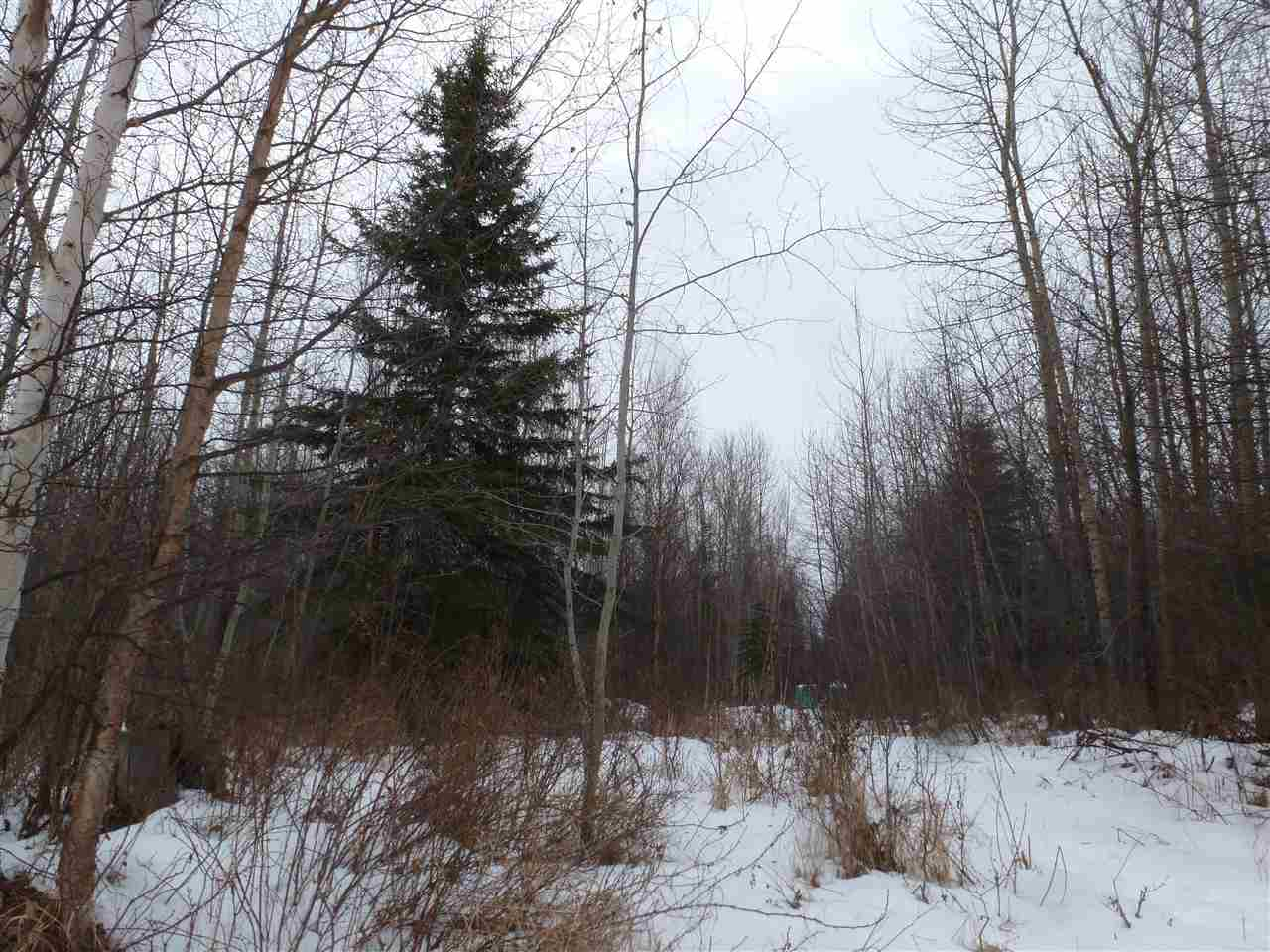 Need a Get-a-Way Place - this is it - Peace & Tranquility & Nature! 4.99 Treed Acres in the Connor Creek area North of Mayerthorpe. Build your Dream Home - Build a Cabin! Central to Whitecourt, Barrhead & Mayerthorpe and close to theConnor Creek Community Pasture for excellent hunting!