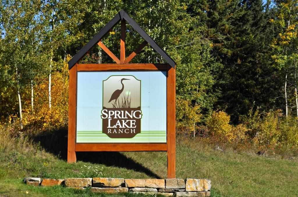 A half acre lot located in the family friendly community Spring Lake Ranch. With power, gas and phone services to the site, this lot is ready for your dream home.  At Spring Lake Ranch, you can wake to the sound of loons on the lake, take a stroll along a ravine trail, and spend the afternoon canoeing, fishing or snowshoeing. Need to do a grocery run or other shopping? The Stony Plain and Spruce Grove stores are just minutes away. Into fitness? Check out a class at the nearby Tri Leisure Centre. If you have kids, you?ll love the excellent options of schools in the area, including the top-rated Blueberry Community School. Just 25 minutes west of Edmonton, Spring Lake Ranch borders the north side of beautiful Spring Lake.