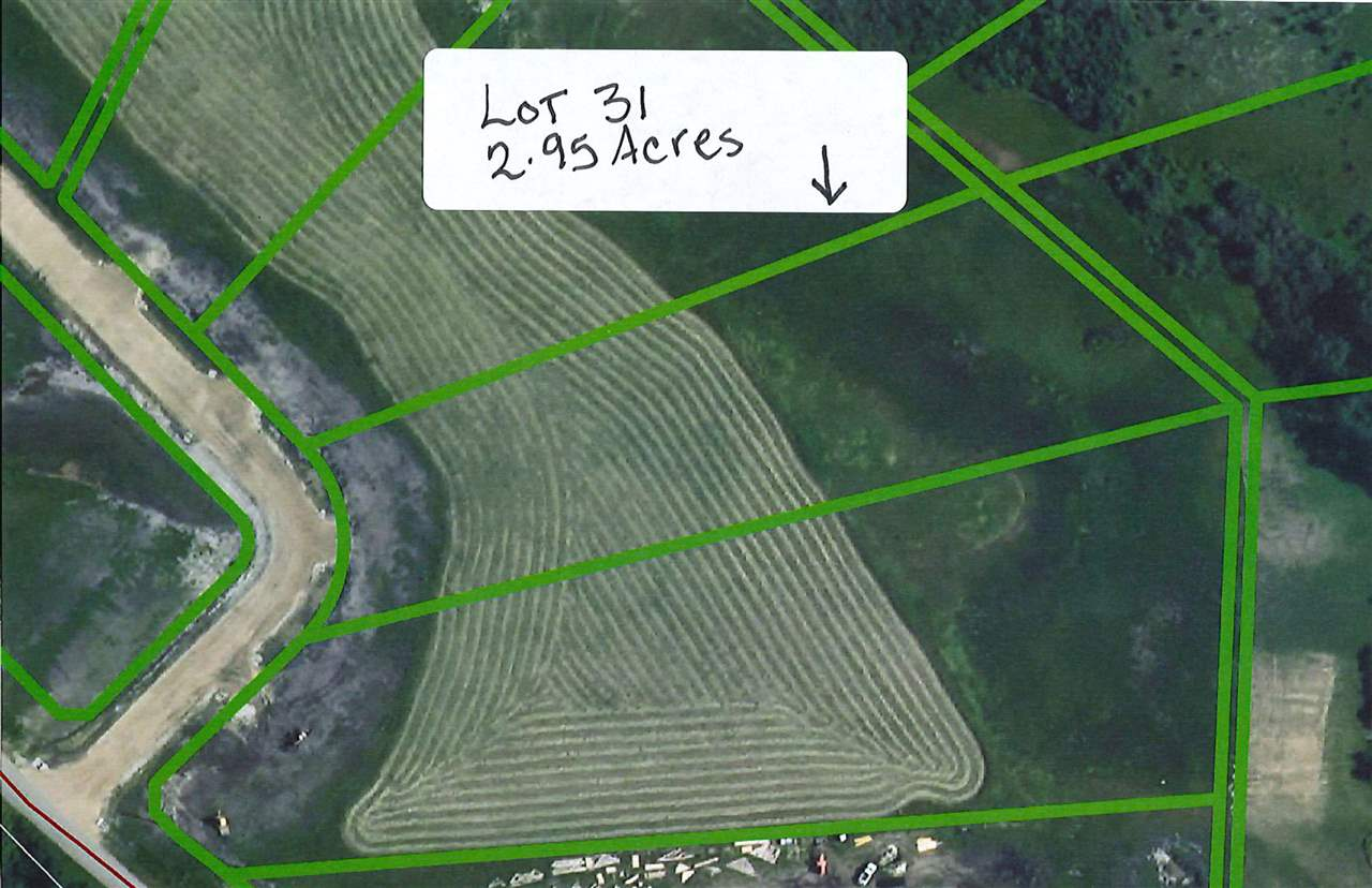 Beautiful acreage lot just outside of Millet, perfect to build your dream home.  Restrictive Covenant is in place to protect your investment.  Lot is 2.95 acres.  Easy commute to Leduc, Nisku, Wetaskiwin and Edmonton.  GST may be applicable.