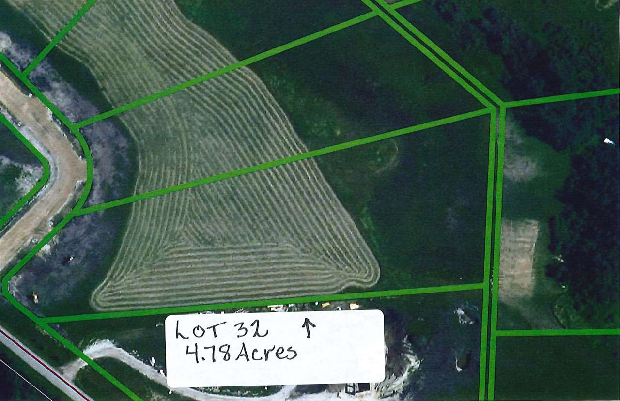 Beautiful acreage lot just outside of Millet.  Restrictive Covenant in place to protect your investment.  This lot is 4.78 acres and has its own well.  Easy commute to Leduc, Nisku, Wetaskiwin and Edmonton.  GST may be applicable.