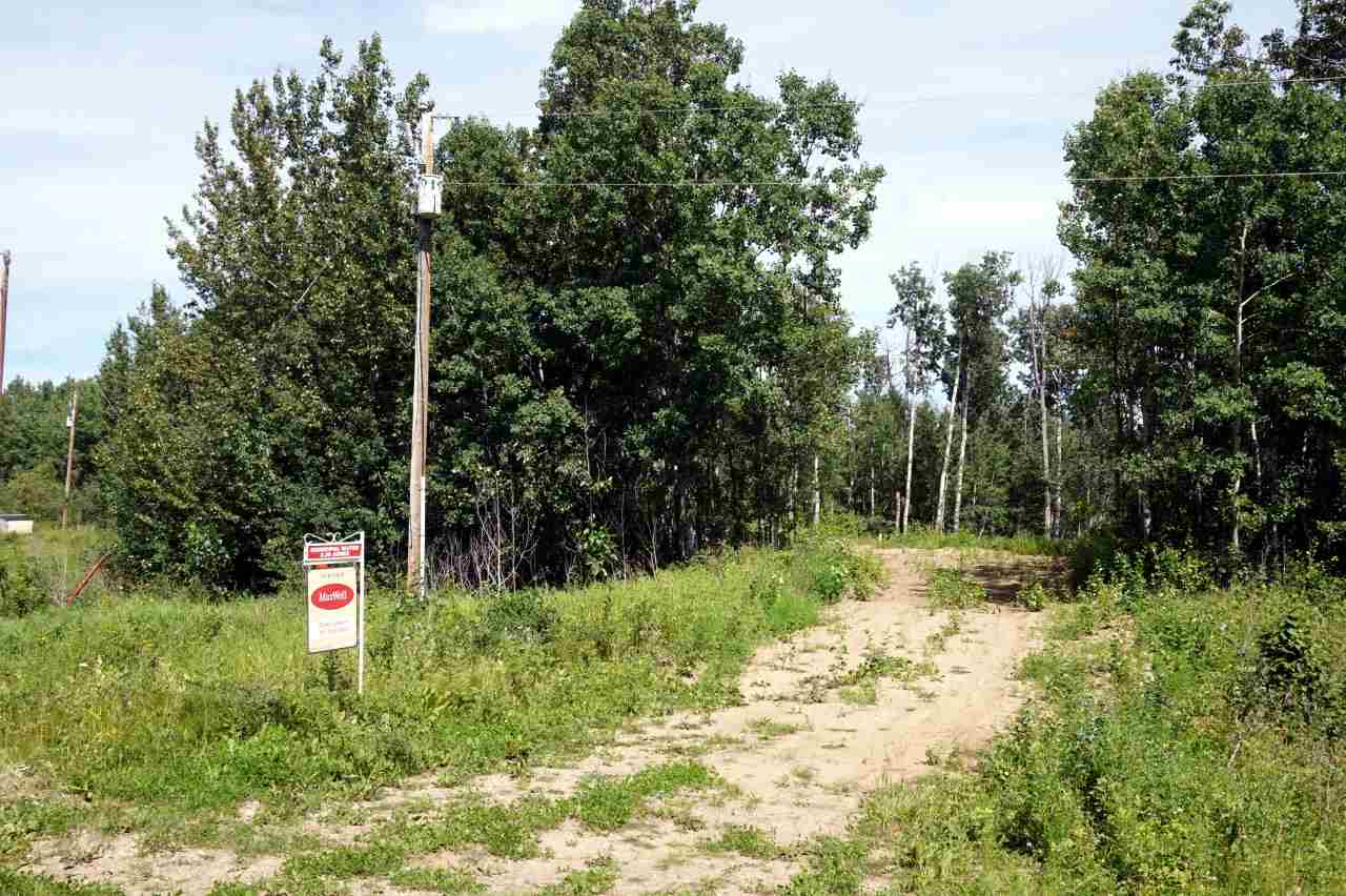 TREED 3.39 ACRES WITH ACCESS TO CITY WATER.  Located in the sub division of Forest Glen just 25 minutes east of Sherwood Park you will find this private treed lot. This lot is in a cul-de-sac and a site for building has been cleared.