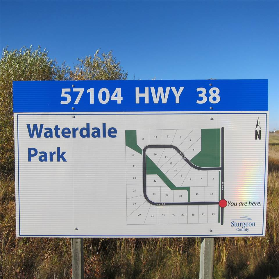 Build your dream home! Beautiful 3 acres in Waterdale estates with plenty of trees for privacy. (5 mins to Redwater, 30 mins to Edmonton). This Subdivision is quiet with plenty of privacy for you & your family. GST may be applicable.