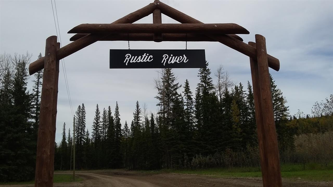 Now selling 35 year lease's in Rocky's newest resort Rustic River! Rustic River is located West of Rocky Mountain house on Hwy766 past Crimson Lake Park. Rustic River offers a natural setting on the North Saskatchewan River surrounded by trees with several amenities within the resort. This resort offers a large playground area, 2 rental kitchens, small convenience store and community showers. Future development plans include outdoor pool, volleyball court and much more. Power and water on site, option to install septic tank. Move your RV or purchase a park model to set up on your ideal lot and set up your home away from home! Lots are priced $40,000-$70,000 with a large variety to choose from.