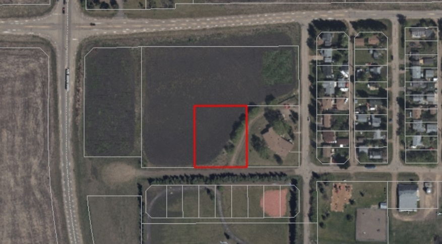This 1 Acre property is located in the town of Josephburg and has a lot of potential. The parcel is located across the street from the baseball park & just steps to the Moyer Recreation Centre.  As per the Area Structure Plan, the land could accommodate medium density housing. The other option is building your dream home in a quiet community, with a quick commute to Fort Saskatchewan & Sherwood Park. Permitted uses include single dwelling, group home, home business (minor), religious assembly (minor) and secondary suite. There are several discretionary uses including commercial uses as gas bar, recreation (outdoor and indoor), retail/convenience, service station, and veterinary service to name a few.