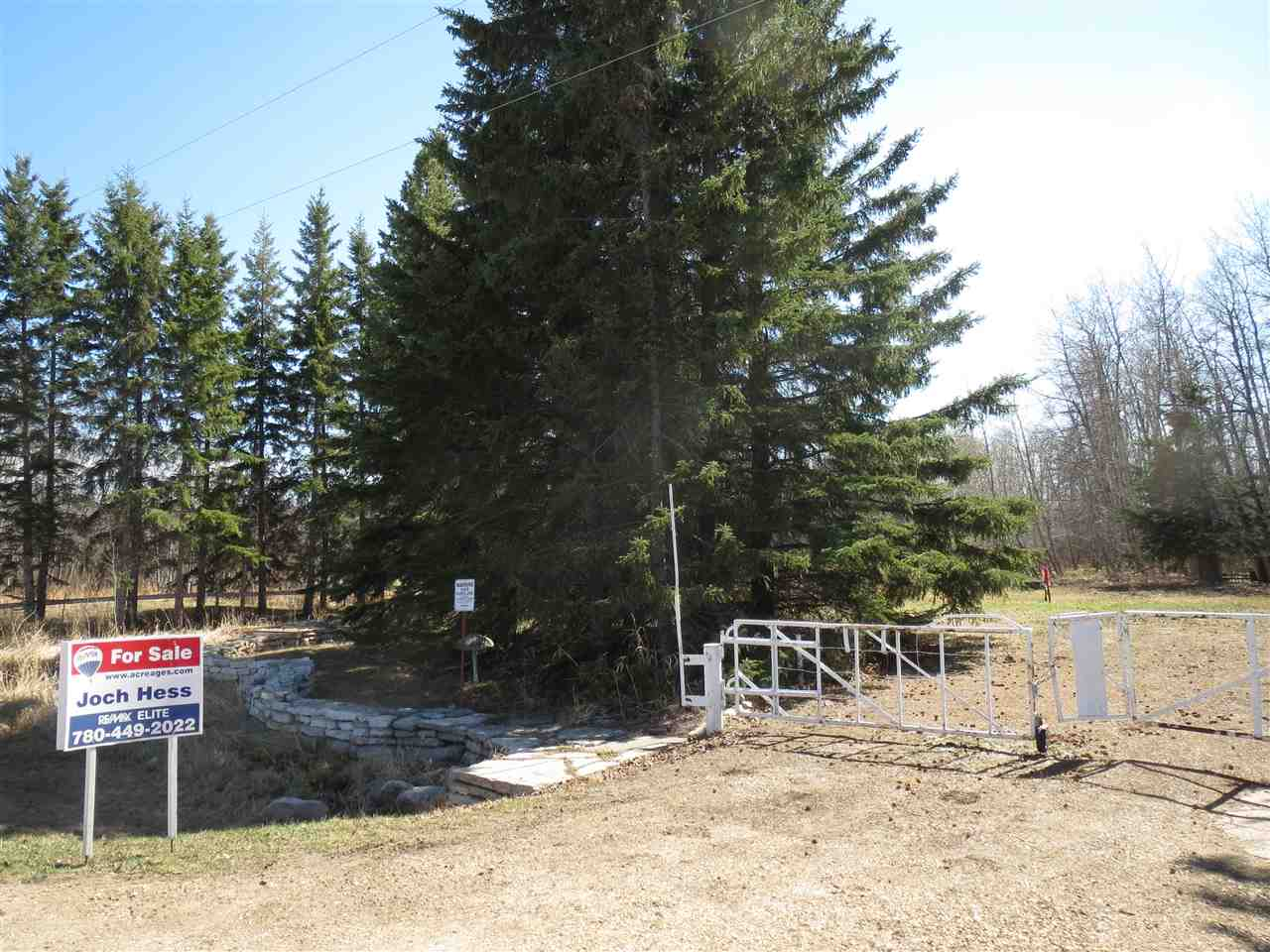 Build your dream home on a beautiful 0.46 acre lot at Hastings Lake. Nice and private yard has power, gas, telephone, cistern and septic holding tank. Enjoy the lakeside living 30 minutes to Edmonton.