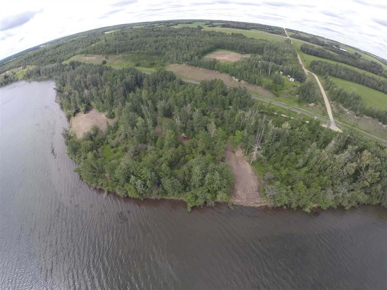 ONCE IN A LIFETIME OPPORTUNITY to own PRIVATE WATERFRONT land on Lake Wabamun close to Seba Beach! Consisting of 1.9 acres, this RARE find boasts over 900 ft. of sandy beach with Riparian Rights to the water.  South facing waterfront exposure with two building site areas. Plenty of trees for added privacy. Located a short 45-minute drive west of Edmonton, this property is the perfect site for your Lake Retreat! Adjacent 5.39 acres is also for sale, please visit MLS# E4066014