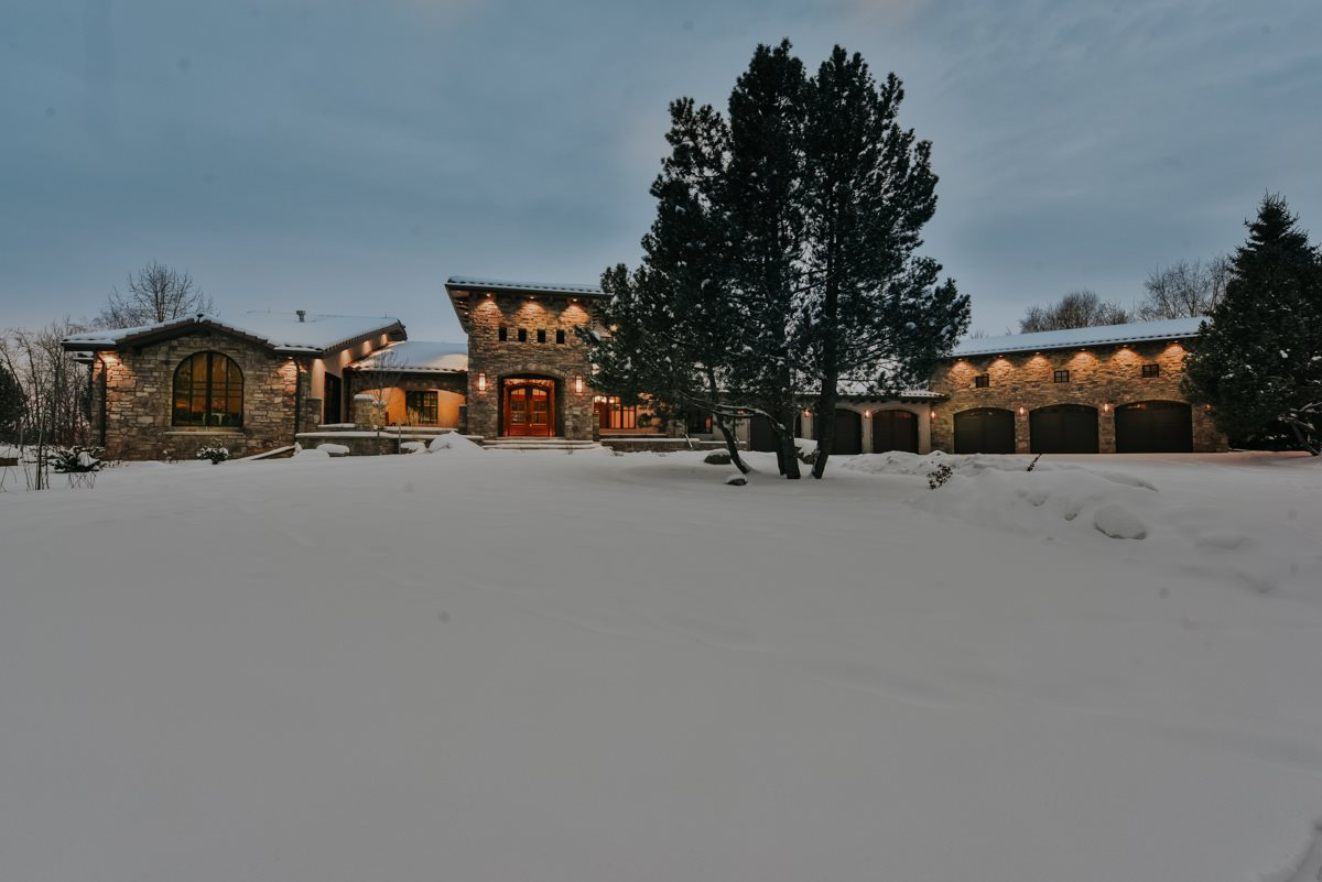 SPECTACULAR! Architecturally designed w/Tuscan Inspiration. This stunning 5 bdrm ,custom rebuilt home is nestled on 4.6 acres in Willowridge Estates. Impeccable attn. to detail; quality materials, finishes & mechanicals. Showcasing imported, solid Douglas Fir post & beams, real Limestone & beautiful hdwd flooring thru-out the main floor & loft lvl. Custom Pella windows, Nano door to patio & cascading 2 storey windows. Magnificent stone f/p's. Custom wrought iron spiral staircase leads to mezzanine loft area & 2nd Mstr. Bdrm. A 9'x4.5' waterfall wall feature. A Master Chef's kitchen w/Prof. Thermador range, Subzero Fridges/Freezers & Meile  B/I appl. 2 lg. islands for prep & serving. Formal DR w/butress ceiling & B/I wine fridges. The Master Suite offers an ultra ensuite & priv. patio sitting area. Lower lvl. offers a 2nd kitchen, theatre room & games area/family room. Central A/C, 6 Car Garage + Shop! 1 acre prof. landscaped w/bbq patio, waterscape & fire pits. 10min to Anthony Henday, 20 min to WEM.
