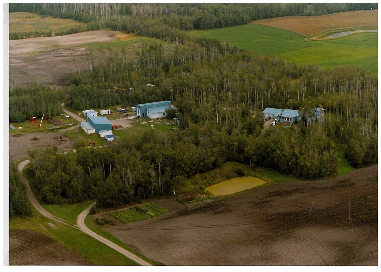 """BUSINESS - HOBBY FARM- 40 ACRES    Great Opportunity for this well planned parcel with  40' x 60 Heated shop with In-floor Heat,8"""" Concrete,  Floor Drain,220 Wiring ,16' x16' Overhead door and 17 Foot ceilings, 30' x 60'  Metal Clad Pole shed, 34' x 50 ' Storage building plus Numerous additional buildings  and shielded parking areas , Hookup for trailer.  Plus a renovated 5 bedroom, 4 bath home with over 5300 sq ft of living space. Master suite located on the second level with over 700 sq ft and a 3 piece ensuite, sunroom and  3 car heated garage ,  Huge garden area with spring fed dugout and strategically located on the Border of Strathcona County and Leduc County"""