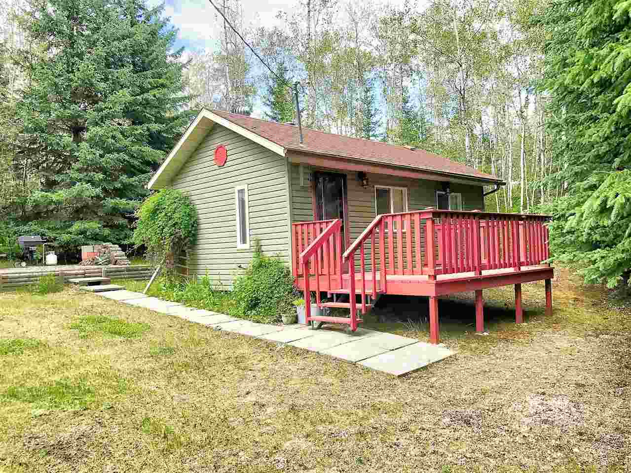 This sweet cabin at the lake is neat as a pin and sits on a nice private half acre lot. Trees all around the property create an oasis where you can sit on your patio or on your deck and enjoy your family and friends. The cabin has been beautifully maintained and is set up for ease of use. The fifth wheel comes with the property and gives you guest quarters for when you entertain.  This is a great package and will appeal to those that are looking for an idyllic getaway place!