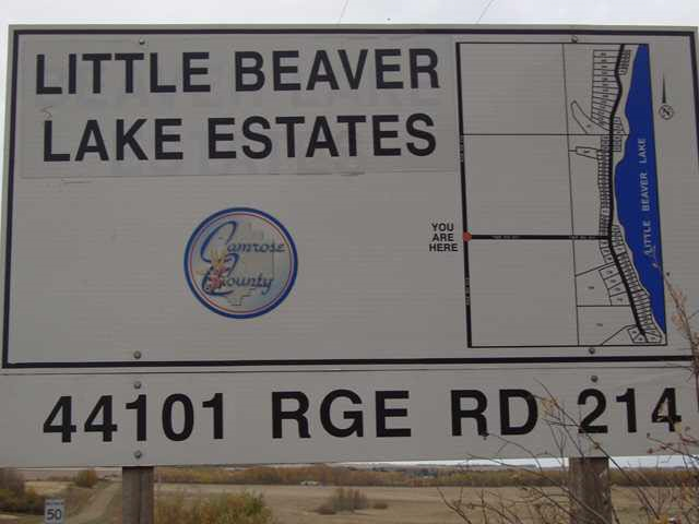 Nice little acreage just off Little Beaver Lake. Utilities at the property line.