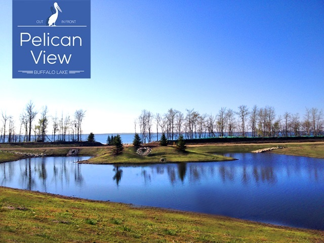 Beautiful site to build in Pelican View Estates! Lakeview lot available in the new prestigious community backing onto Buffalo Lake! Alberta's best kept secret will soon be known, and here is your opportunity to own a great investment that your family will appreciate for years to come! Don't miss this great introductory pricing direct from the developer!!