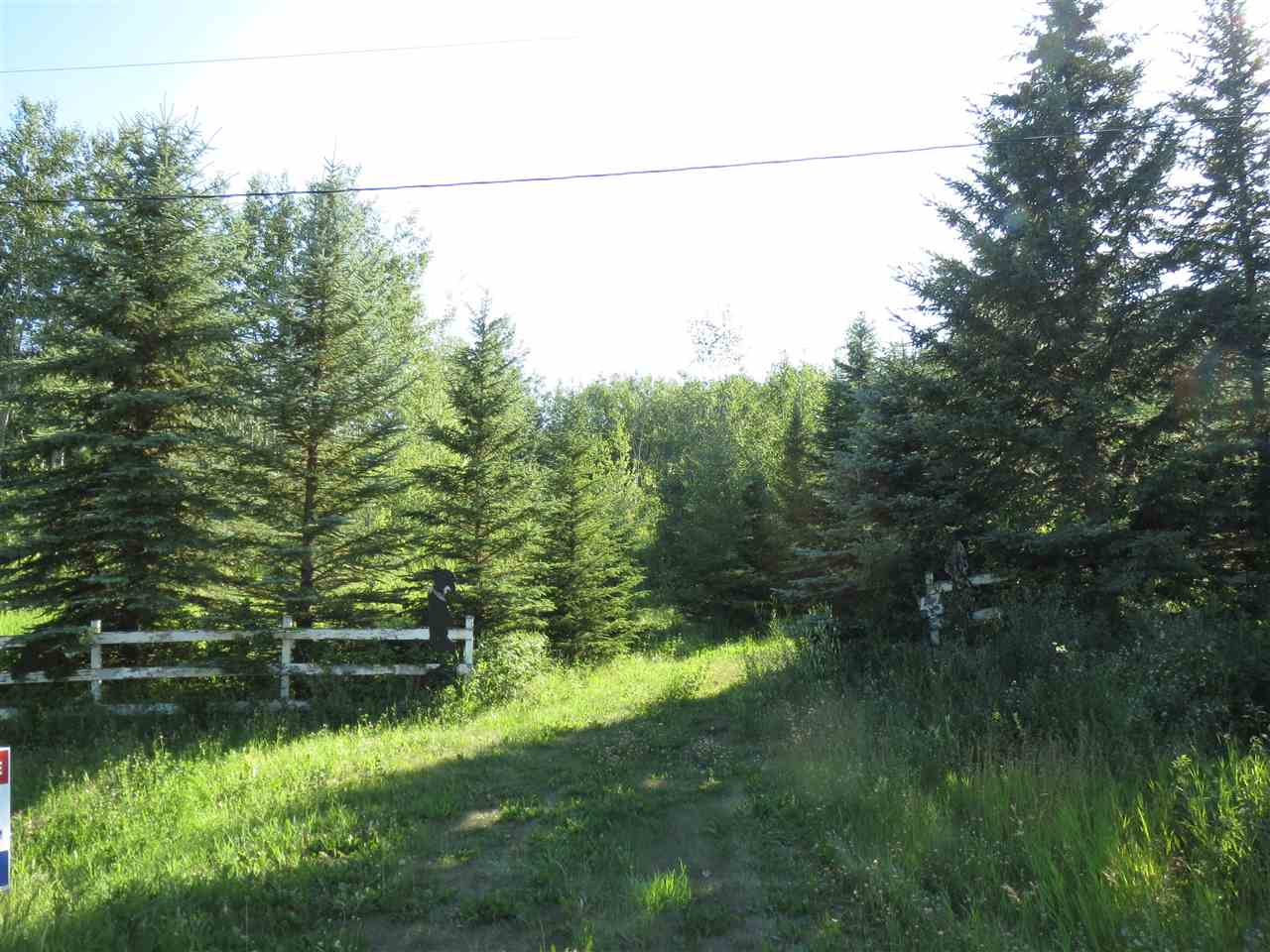 4.5 acres in Rolling Glory Estates. Good high ground, treed lot, perfect for a walk out basement with a few good building sites to choose from. Good water in the area with a deep well.