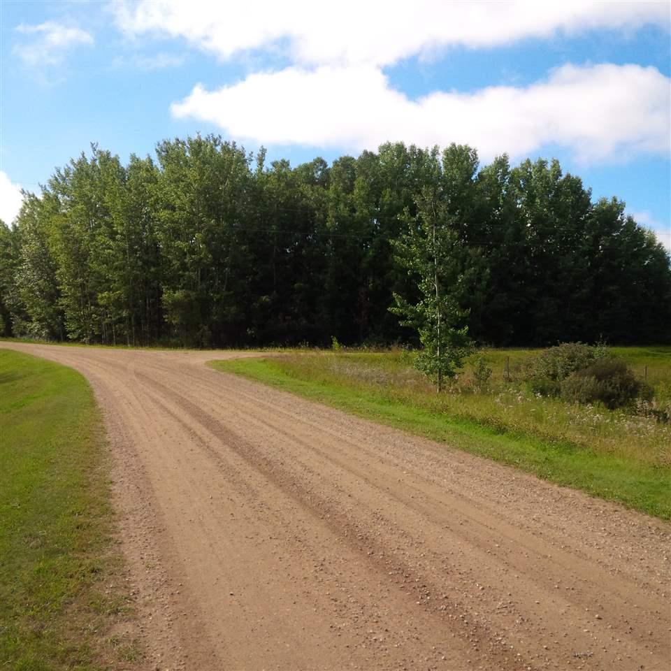 Build your dream home on this 3.29 acres beautiful treed lot in a cul de sac location. Just around the corner from Johnnys Lake. Only 15 minutes to Stony Plain. Enjoy the quiet country life. In Lakeside Park Subdivision Lot 33. Don't delay, buy to build or just for future investment.