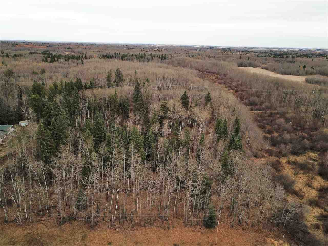 SITUATED in the gorgeous setting of Banksiana Ranch in Parkland County is this stunning parcel of land. A rare opportunity to build your dream home awaits you and your family. This level 3.11 acre lot is nicely treed and backs the brand new Devonian Trail that connects to Prospector Point and the Devonian Gardens to enjoy those long family walks. Fantastic location being a short drive to Devon, The Edmonton International Airport, and Edmonton.
