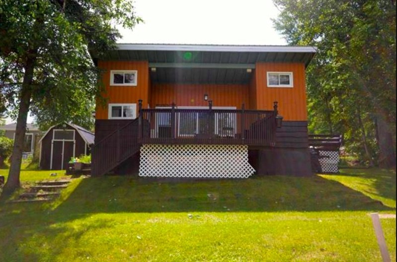 Welcome to the highly desired community of Silver Sands! This house has it all for the country enthusiast.  Close to water activities and Silver Sands Golf Course, this home also boasts a large deck - facing the lake, additional patio, storage shed, and open floor plan.  Beautiful vaulted ceilings with perfected wood finishes, two bedrooms and 4 piece bathroom.  This home is packed with character and has a beautiful yard, ready for summer.  Less then an hour from Edmonton - look no further, because this is the ideal home.