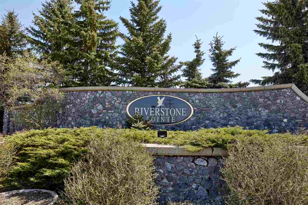 Riverstone Pointe ? Luxury living, design & fantastic location!  Imagine your dream home with incredible views built on this 0.75 acre ? 32670sqft SW facing lot!  One of the last remaining large lots to develop!!  Riverstone Pointe is a stunning community with walking trails & architecturally controlled development.  Close to both St. Albert & Edmonton, country living just minutes from city life. Walking distance to the Sturgeon Valley Golf & Country Club.