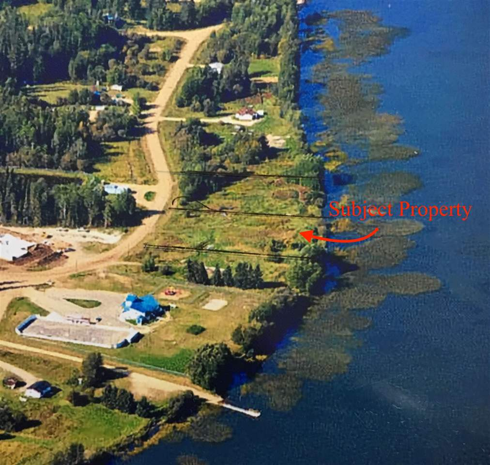 LAKE FRONT LOT ON SANDY LAKE OFFERED AT ONLY $59,800! WOW Incredible opportunity to own lake front with municipal services right at the property line! Build your dream home on SANDY LAKE! Only 30 min to Wabasca (lot 890 Pelican Rd is also available MLS # E4113432)