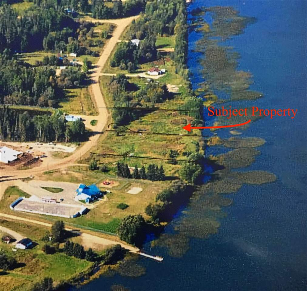 LAKE FRONT LOT ON SANDY LAKE OFFERED AT ONLY $59,900! WOW Incredible opportunity to own lake front with municipal services right at the property line! Build your dream home on SANDY LAKE! Only 30 min to Wabasca. (880 Pelican Road is available beside if you desire a full acre lakefront!)
