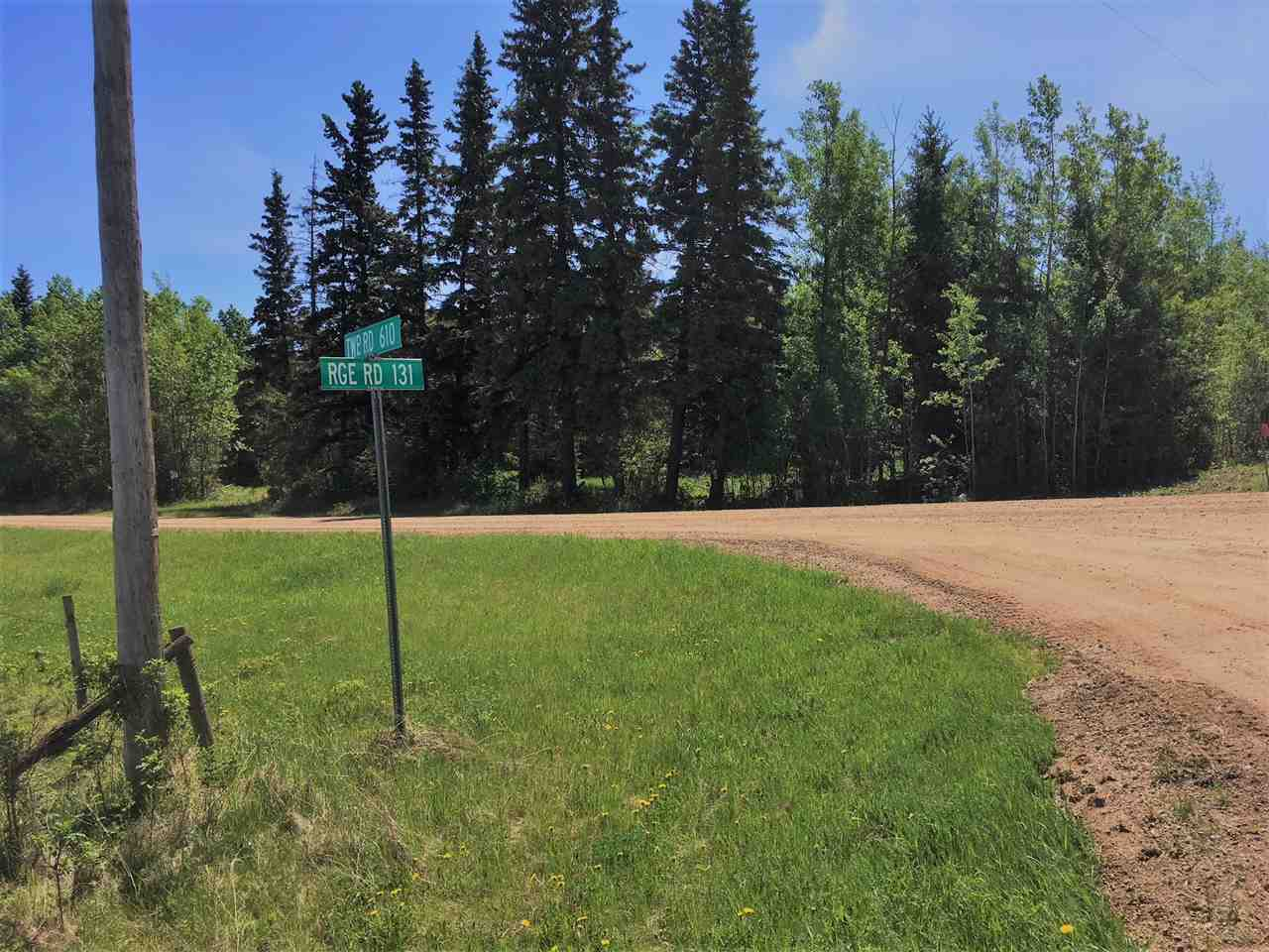 Enjoy the peace, quiet & tranquility of this corner 3 acre parcel nestled amongst a mix of poplar and spruce trees. This is an ideal property for a new home site or your recreational getaway. Power, water and a septic system are on site and a telephone line is available at property line. Minutes to Whitefish, Goodfish, Garner, Floating Stone & Bonnie Lakes which offer swimming, boating, fishing or hanging out at the beach. For the golfer, Vilna Golf Course offers a 9 hole course with grass greens. The possibilities are endless for this beautiful property. GST may be applicable.