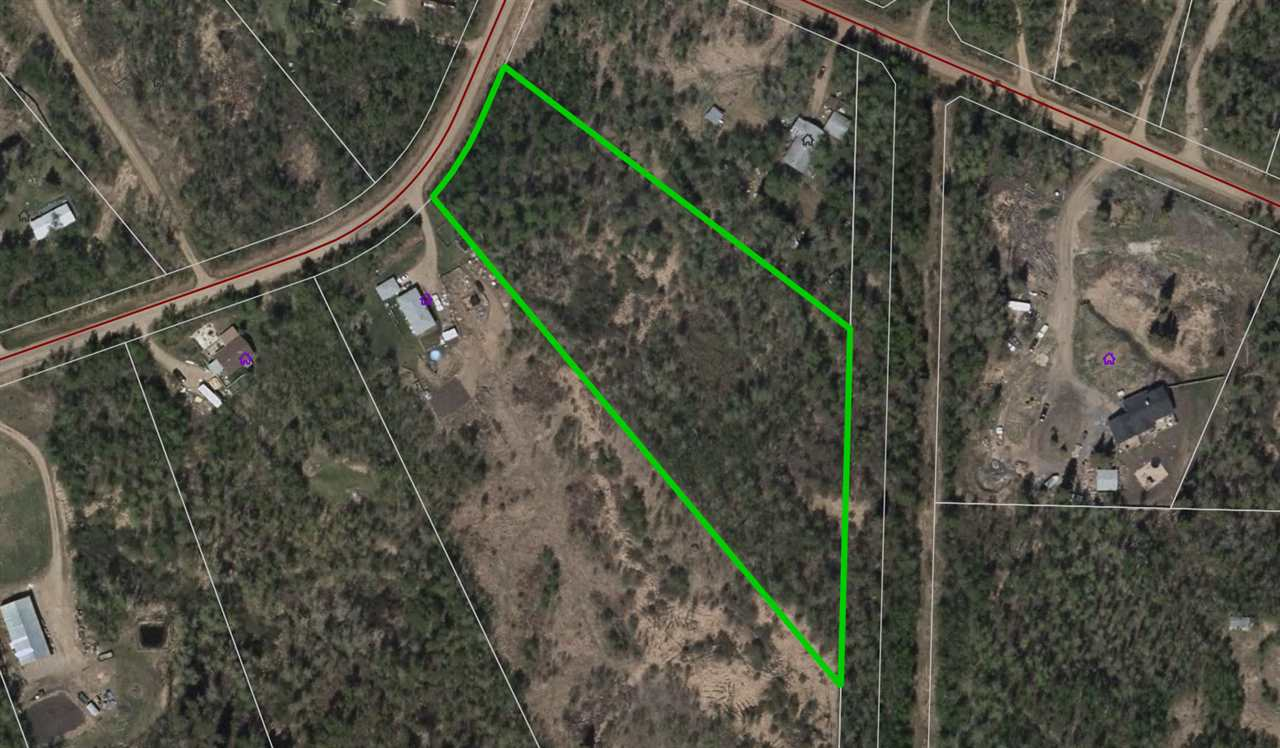 4.14 acre lot in the desirable rural community of Islet Lake Estates in Beaver County. Fully treed lot! Private & Peaceful! Only 20-30 Minutes from Sherwood Park and Edmonton. A must see !!!
