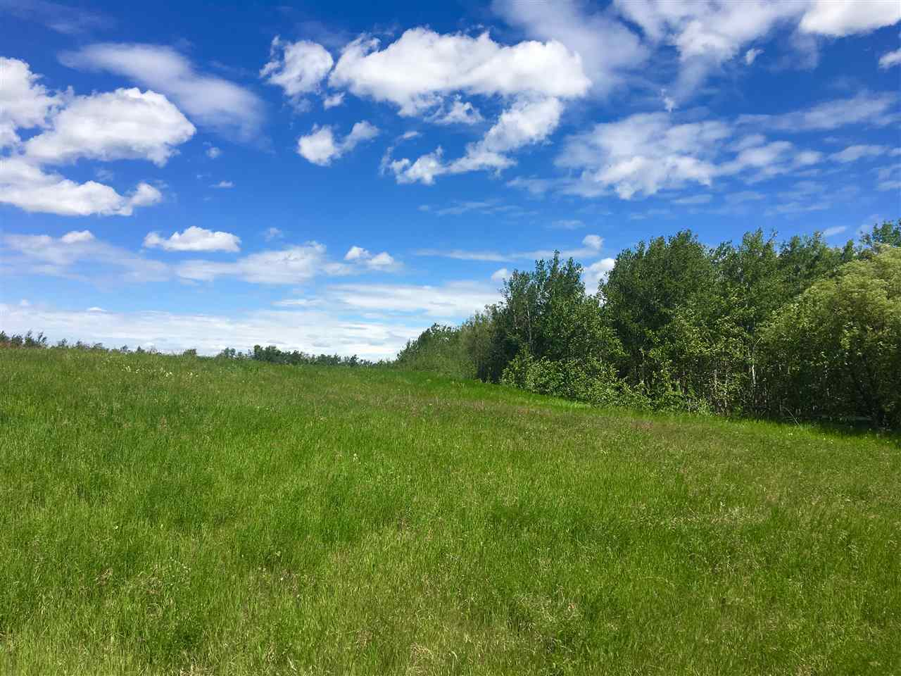 Pavement all the way to this L-Shaped 5.73 ACRE parcel just minutes from Beaumont and on the Beaumont Bus (BLACK GOLD AND STAR CATHOLIC) route! GATEWAY ESTATES is paved and allows HORSES so there is plenty of room on this partially treed parcel to pasture your horses. The approach is in and the power and gas are available to the property. Leduc County 'Country Residential' Standards provide minimum requirements for building size and future development. GST on the purchase price may be applicable.