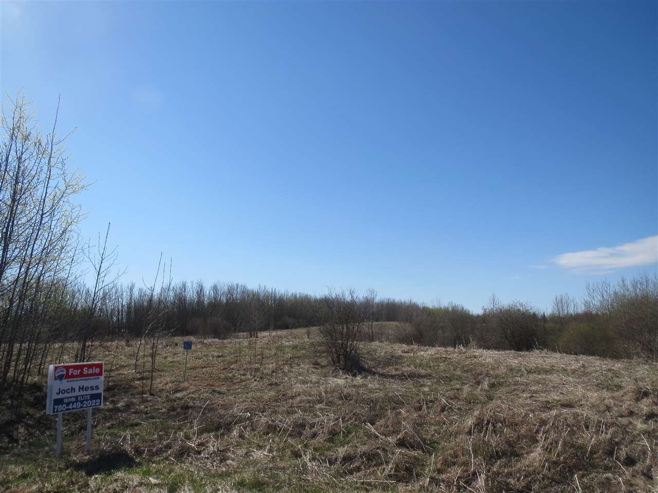 4.95 acres in Kingsway Estates. Very quiet subdivision. Great potential for a south facing walk out basement. Ten minutes to Tofield. Thirty five minutes to Edmonton. Close knit community.
