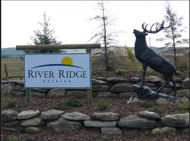WINTER PRICING! LIMITED OPPORTUNITY AT TODAY'S PRICE! INVEST TODAY AT $77,999. PRICE INCREASE SCHEDULED FOR NEW YEAR 2019  Start building on this choice lot in RIVER RIDGE ESTATES, a wonderful resort community overlooking the pristine Battle River Valley. Surrounded by great golf courses, such as the newly expanded Dorchester Golf Blub, Black Bull Golf Resort, or for a shorter game of golf there is the Wicked Witch Par 3 golf course, all minutes away. River Ridge Estates has beautiful waterfalls and will have sand volleyball court, basketball court, swimming pool, plus a western play area with miniature buildings. When you want to go the lake, Pigeon Lake is 5 km away for boating, water-skiing, a swim or beach time. In the winter you can still have fun, snowmobiling, cross country skiing and ice fishing. Architectural controls are in place to enhance the natural beauty of River Ridge. Invest in the land now, and begin dreaming about your new lake life!