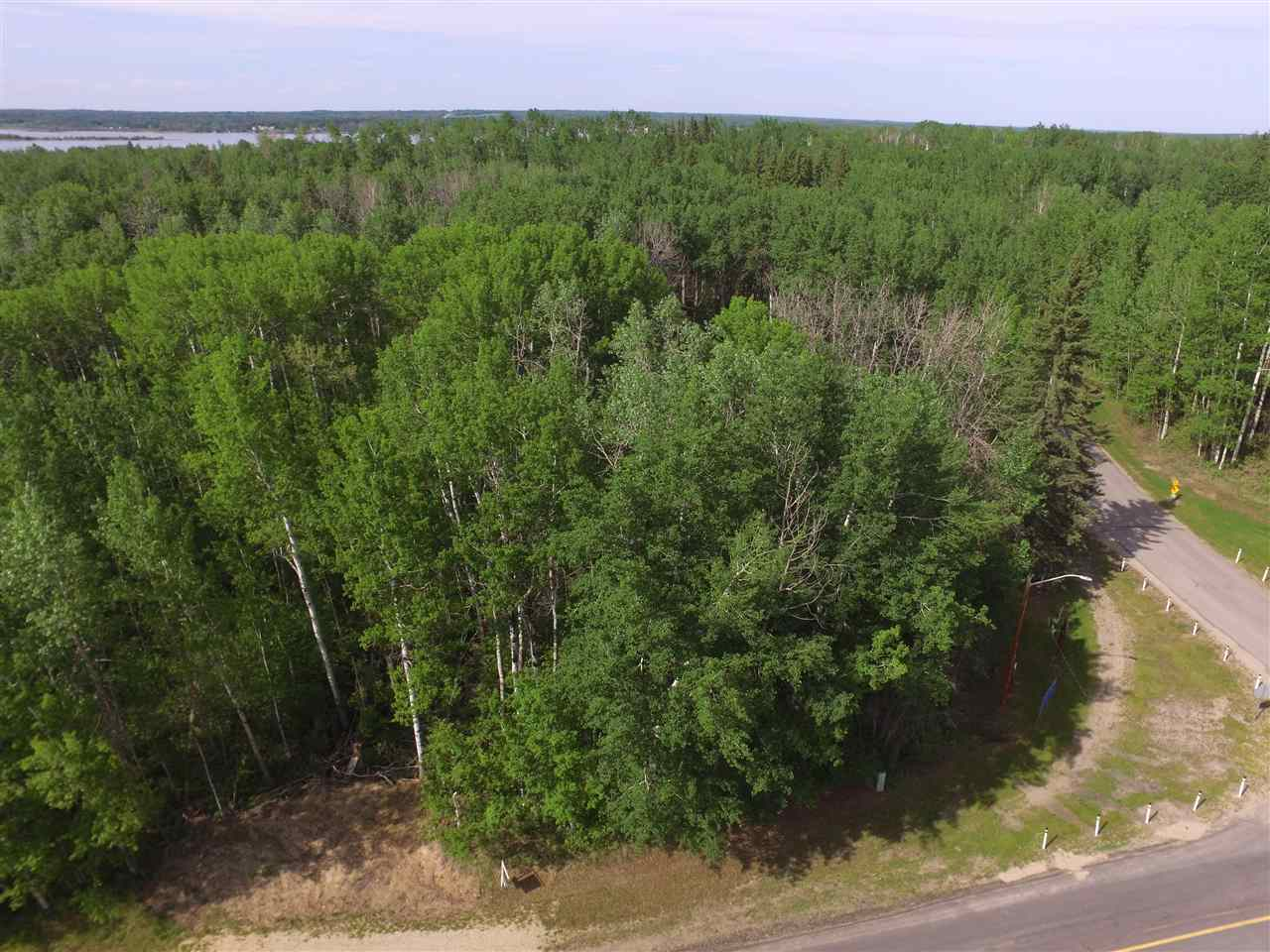 PRICE REDUCED $10,000! Investor Alert! Rare opportunity to own 14.55 acres with LAKE VIEWS in the Summer Village of Silver Sands! Beautiful parcel of land located just steps from the lake. Fully treed and rolling landscape provides many opportunities for development or the perfect getaway with very private setting. North boundary backs onto environmental reserve and the lake! The Summer Village of Silver Sands is located just 45 minutes from Edmonton and is located on Lake Isle. The village boasts a 18 hole golf course, playground, community BBQ area, boat launch, walking trails, and abundance of wildlife. Pavement right to driveway!