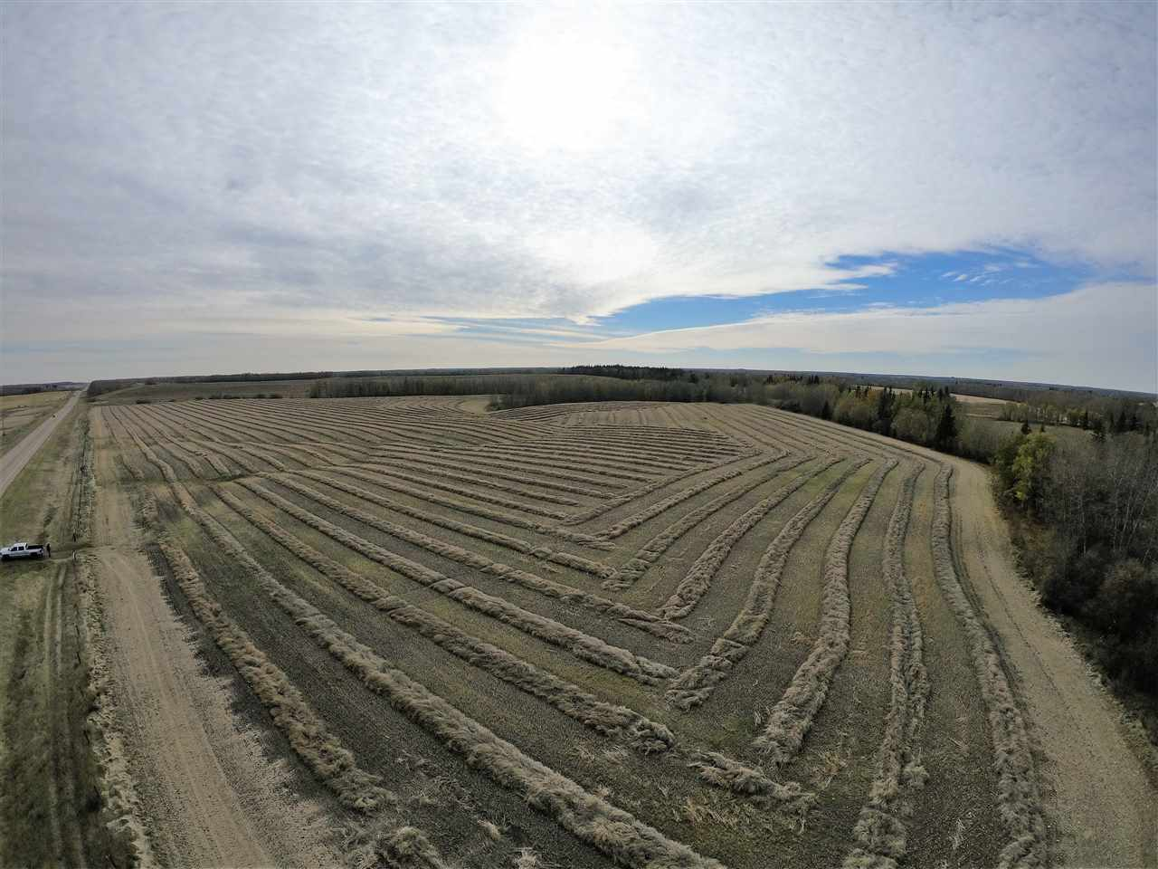 71.35 Acres! Located on Hwy 44 near Jarvie! Great for agriculture or to build your dream home and hobby farm. Gently rolling hills give lots of nice building spots. Good producing land. Property had a fantastic canola crop this year.