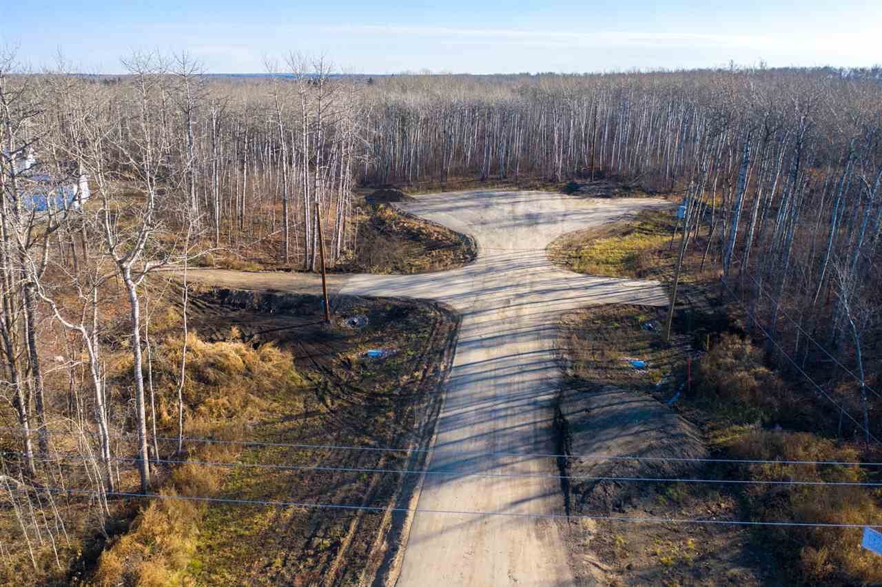 Welcome to Emery Estates, Brand new subdivision surrounded by trees. Emery Estates offers privacy just east of Hwy 21 with easy access into Beaumont, the airport & Sherwood Park. Build your dream home in a quiet treed cul-de-sac with only 3 other homes. Clear the trees you want for your home on this 3.28 acre lot & create the privacy you desire.