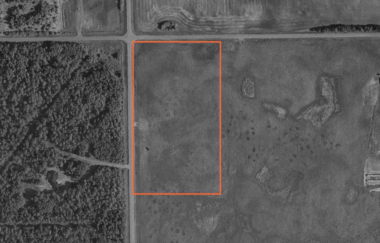 4.99 acres about halfway between Clyde and Thorhild. Close to small lakes and natural areas.  Tree line on west side to protect from wind and helps to provide privacy from the road. Good schools in Clyde and Thorhild.