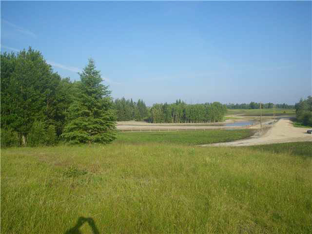 """TREE FARM ESTATES"""". Beautiful Country Living.. MOST lots are Beautifully TREED, but some selection of Open or WALK-OUT and TREED Lots with a Vista View of the Rolling Hills and Pond. Attractive man made Rain Water Pond.. Priced to sell at OLD TIME PRICES! This will make your New home Most affordable or buy just for the Great investment ...SUPER PRICES """"Most lots are priced $60,000.00 to $85,000.00 with 23 homes already lived in.  Possible for  FINANCE TERMS FROM THE DEVELOPER , WITH LOW DOWN PAYMENT AND INTEREST RATES...DIRECTIONS = only 20 min (28-32Km)to SPRUCE GROVE and STONY PLAIN and 28km to Morinville.. Nearly all Highway right to your Home., .Also suitable to St. Albert, Stony Plain, Edmonton, Military Base (Lancaster Park), Spruce Grove. Most Lots are 2 - 3 Acres .Go there from Morinville West to Rge. Rd 13 then 1Km South - OR 3.5 mile (7km) N of Hwy37 on Rge. Rd 13 (Just past Callahoo 5 miles)... GST may be applicable"""