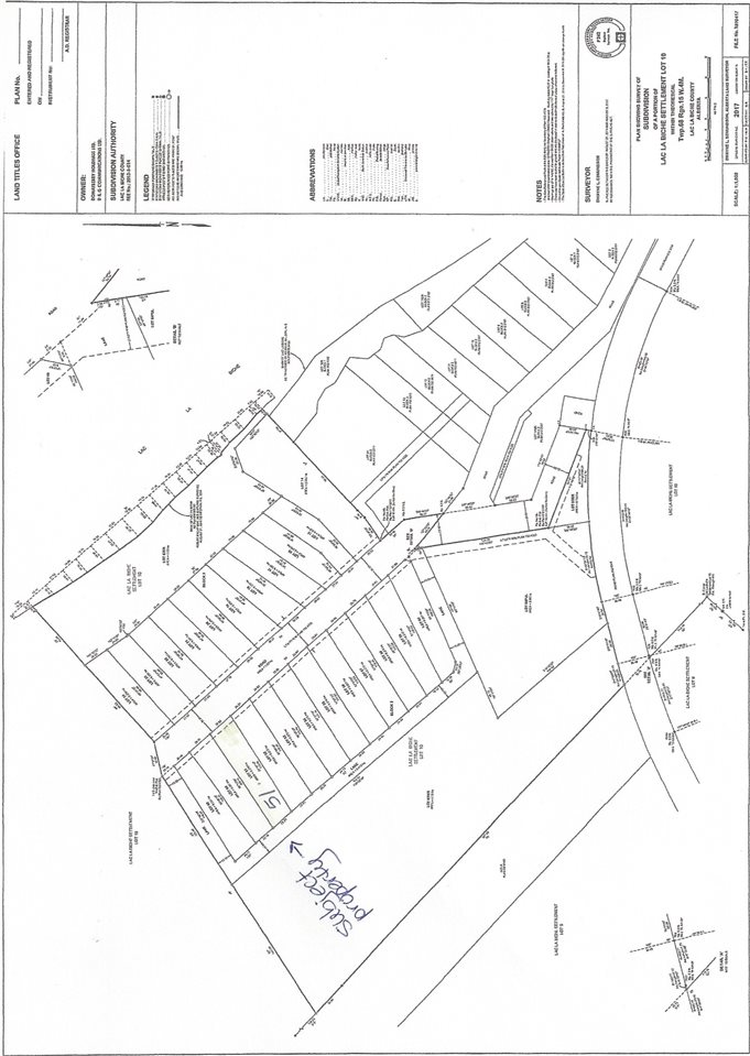 Build your dream home here in this exclusive lake subdivision on this beautifully treed .6177 acre lot located in Eagle Haunt Estates Phase III with ample green space.  Municipal water and sewer, paved driveways and walking trails, paved municipal access road situated between Plamondon and Lac La Biche on Old Trail Road.  Gas and power to property line. Outstanding subdivision!