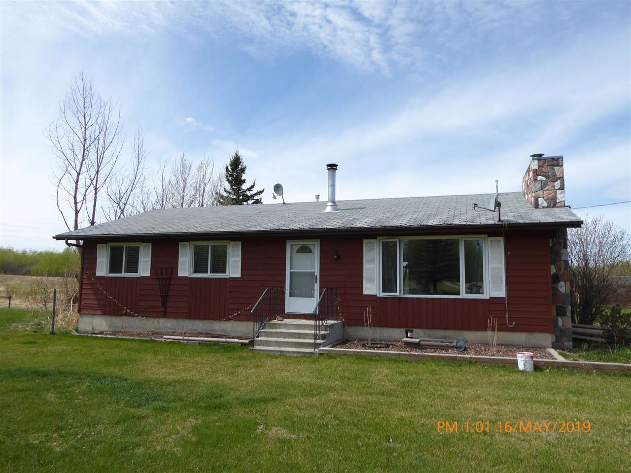 Fall Special @**$399,900**! Great Price for a Great Acreage! Settle into this fine acreage before Winter sets in! 21.83 Acres(Not in SubDivision), Horse set-up, fully-fenced and cross-fenced. 1456 Sq Ft, 3-Bedroom Bungalow(1978) has undergone considerable renovations recently to the rather large Country Kitchen and the spacious Living Room on the main floor, which also features the 3 Bedrooms including Master with 2-piece Ensuite. The basement has additional renovations currently underway. Ideally the property is currently set up for horses with rotating pastures, horse shelters, barn, hay shed, waterers, round pen and corrals. Centrally located in the Spilstead area of Beaver County and only 35 minutes to Edmonton & Sherwood Park. Also short commuting distance to Tofield and Camrose. Settle in before Winter sets in!