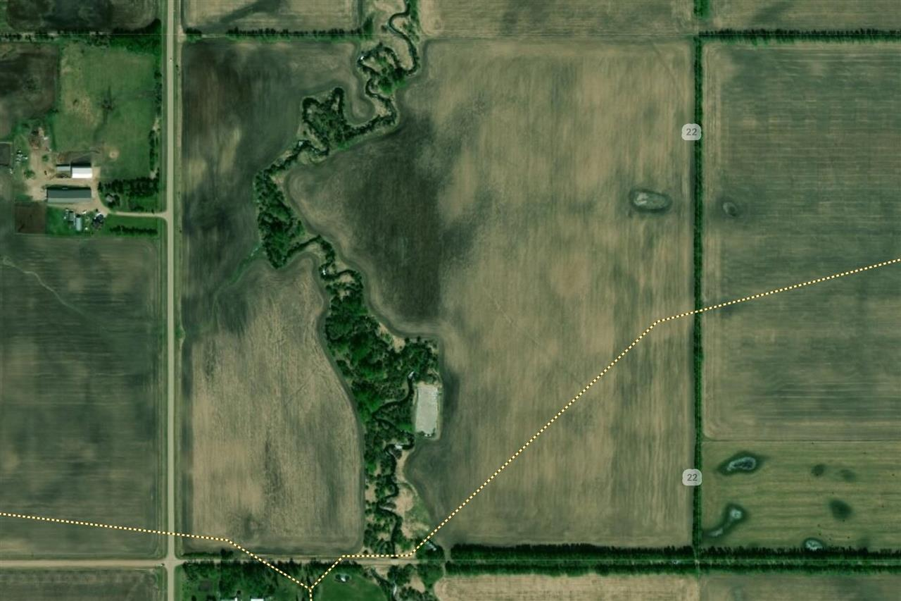 2 parcels of farmland 80 acres each just 2 miles south of Neerlandia right along pavement! Will sell separate or together. Both parcels run east west from Sec Hwy 769 to the next quarter east. There are 132 acres workable acres of high quality farmland ready to work for you. A great opportunity to add to your acres. Come have a look!!