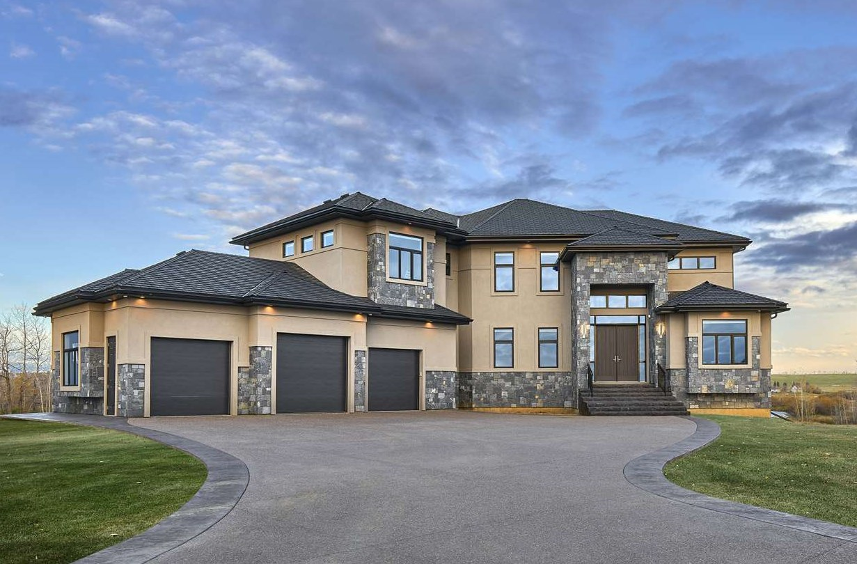 PANORAMIC RIVER VALLEY VIEWS in RIVER'S GATE STURGEON VALLEY'S ONLY GATED COMMUNITY. Crafted to take advantage of it's spectacular location this 4636 sq ft custom built walkout, 6 bedroom, great room 2 storey with fully finished basement showcases 7,000 sq ft of LUXURIOUS CONTEMPORARY LIVING SPACE. Upon entering you are greeted by soaring ceilings, banks of windows & the sundrenched great room. The features include custom millwork throughout, (Main) gourmet quartz kitchen with professional series appliances & massive island & walk-in pantry, office, bedroom with ensuite, great room with floor to ceiling marble feature wall fireplace, huge dining nook leading to wrap around decks, 3 piece bath, large mudroom leading to your oversized 3/4 car garage. (Upper) Gorgeous walkways, spectacular master bedroom with incredible steam shower ensuite, dressing room & private balcony, 2 additional large bedrooms with ensuites. (Lower) Gorgeous Rec Room, Theater room, 2 bedrooms & a den. STUNNING DETAILING-A MUST SEE!