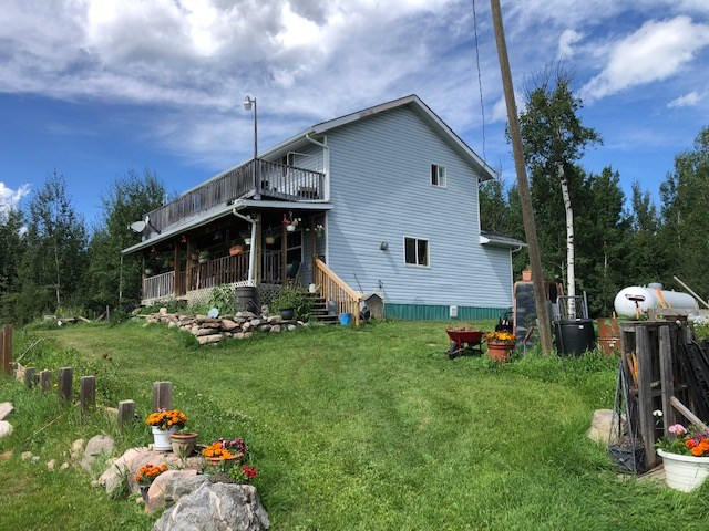 Looking for some room? Well here it is! 160 acres of beauty with a great cabin style 3 bedroom home along with plenty of outbuildings and 40+ acres of hayland and 100+ acres of trails and trees only 1.5 miles south of Thunder Lake! Very quiet on a dead end road , enjoy a woodstove and decks and many other features of country living and still affordable. Come see for yourself!!
