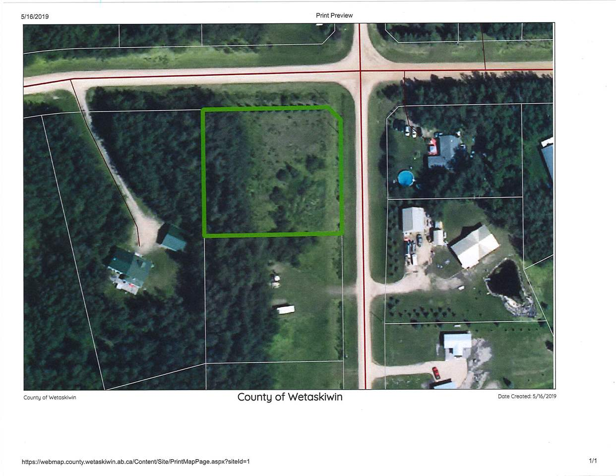 This lot is located close to Pigeon Lake and the Village at Pigeon Lake.  It would make a great summer getaway, or a full time residence.  At .99 acres there is lots of room for gardening, kids, pets and outdoor entertainment and social distancing.