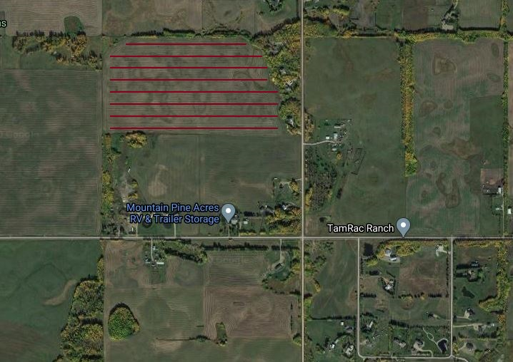 69.34 acres of Number #2 soil offering rolling hills with excellent drainage, this parcel was in a pea crop in 2020.  Located 1 mile east of Beaumont on Township Road 505 then 1/4 mile north on Range Road 240 to a shared approach on the west side of the road. Located just 1/2 south of the newly annexed City of Edmonton and within the Intermunicipal Planning Framework Agreement (Study Area) as indicated on the attached maps for future development. Consider it as a holding property, build an estate home, raise your horses or simply farm the property. The possibilities are endless.