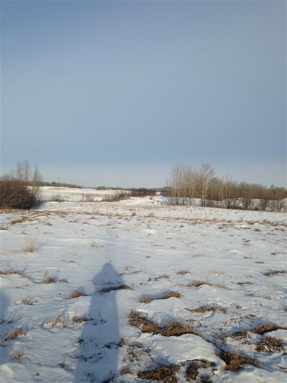 4.97 acre parcel Not in a Subdivision on HWY 770 just north of the the North Saskatchewan River. The site offers several potential building sites and is surrounded by farmland. Ideal opportunity for those looking for privacy but with good highway access. Feel like taking a drive? West on Hwy 627 to Hwy 770. Go left (South) for 7.7 Km. Property has FOR SALE sign on it.