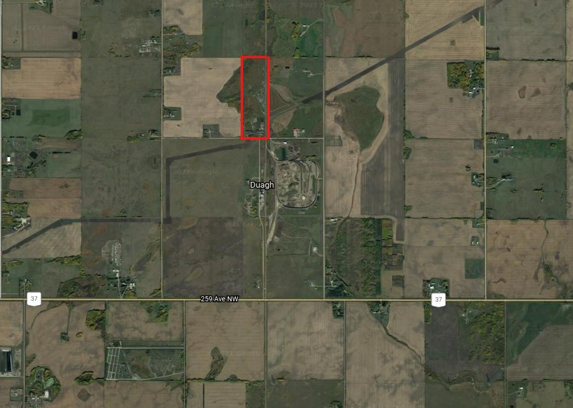 Want to move out to the country but you don't want to drive too far? Then this 43.4 acre lot of land which is a couple of miles from Edmonton's north boundary might be the piece for you. Located just off Highway 37 and Highway 28A. The land is rectangle in shape. Its not in a subdivision. Seller is motivated. Show and sell with confidence.