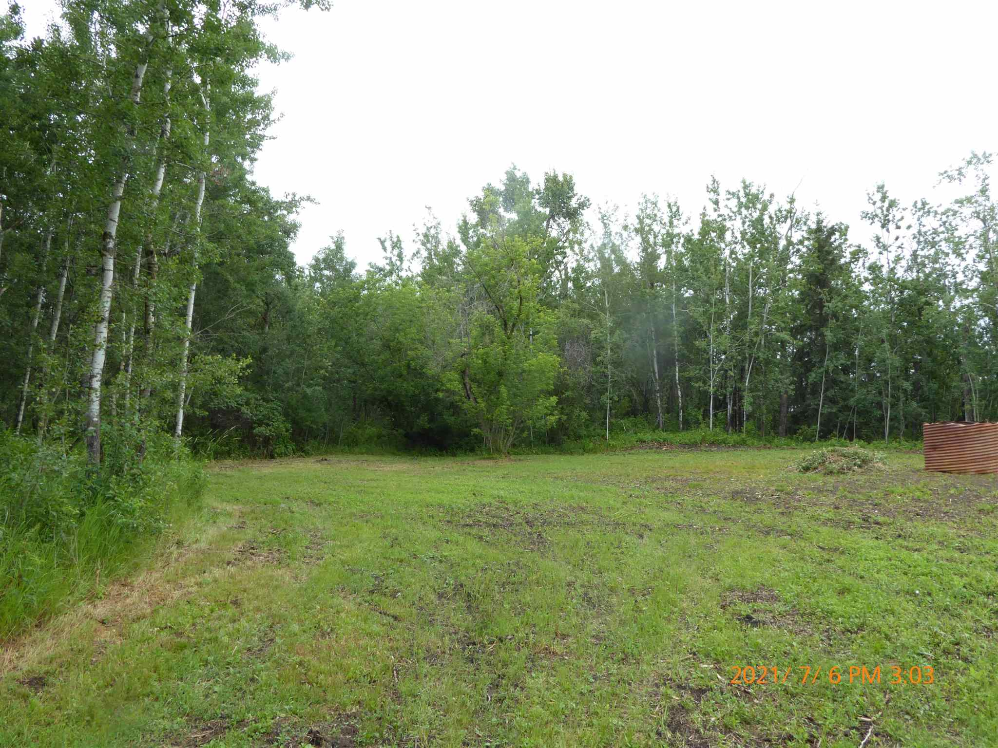 Nice Private treed lot with cleared spot for building site located near the South shore of South Cooking Lake only 12 paved minutes from Sherwood Park and the SouthEast corner of the Henday.