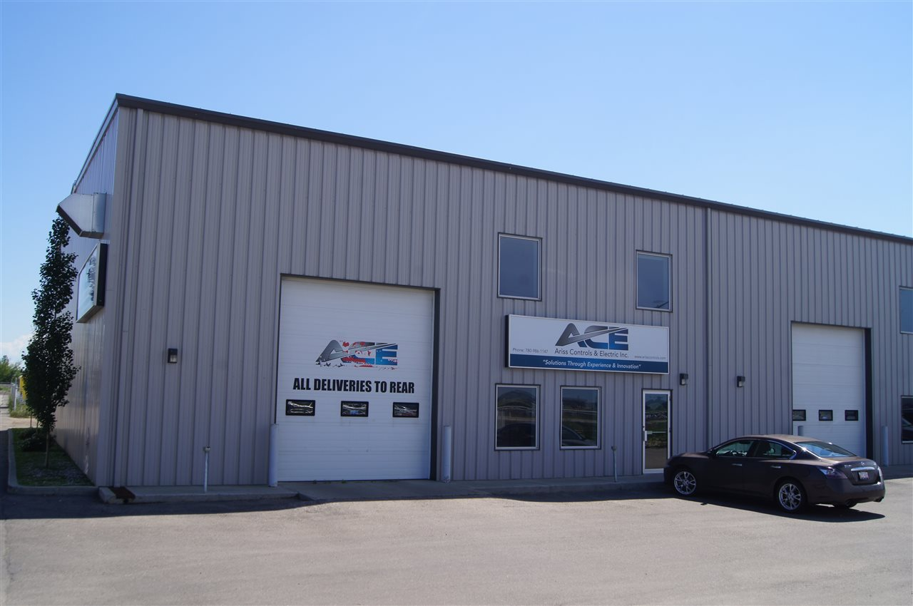 Conveniently located on Sparrow Drive, this newer building consists of 4- 2000 Sq. Ft bays, 2 Drive through with 12' x 14' Doors. Office area with Reception, numerous offices, Mezzanine with numerous modern offices and boardroom.  Up to 1 acre of secured gravel yard available. Great location with loads of options for size available.